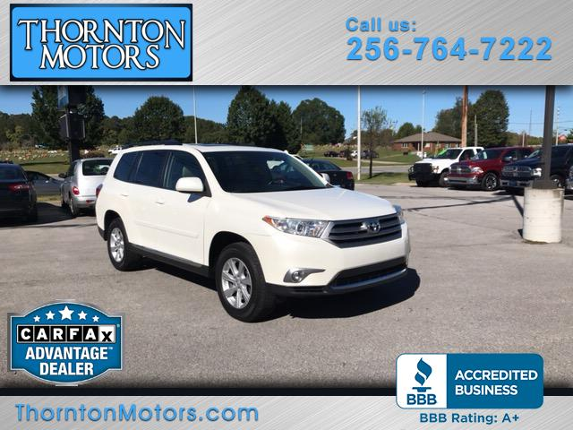 2011 Toyota Highlander V6 2WD with 3rd-Row Seat