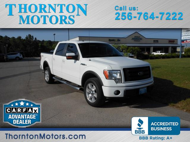 "2010 Ford F-150 4WD SuperCrew 139"" FX4"