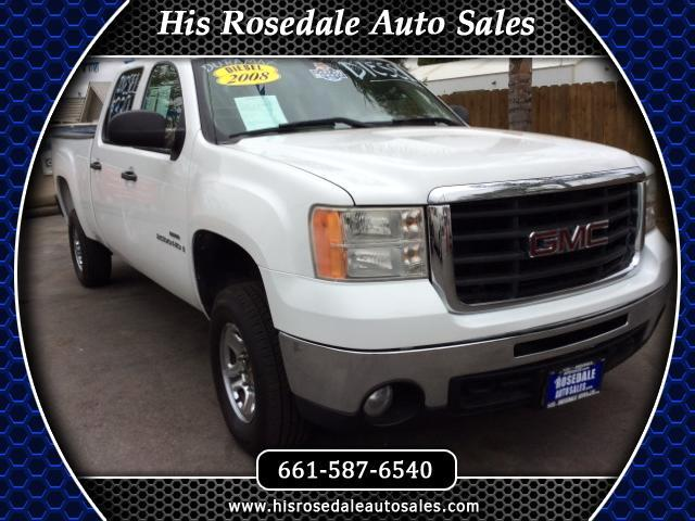 2008 GMC Sierra 2500HD Crew Cab Short Bed 2WD