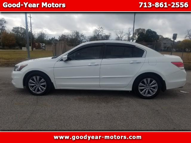2011 Honda Accord EX-L V-6 Sedan AT with Navigation