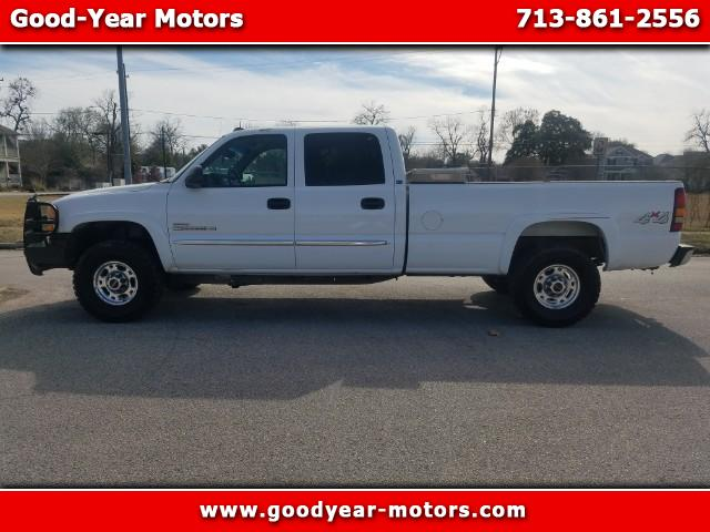 2003 GMC Sierra 2500HD SLE Crew Cab Long Bed 4WD