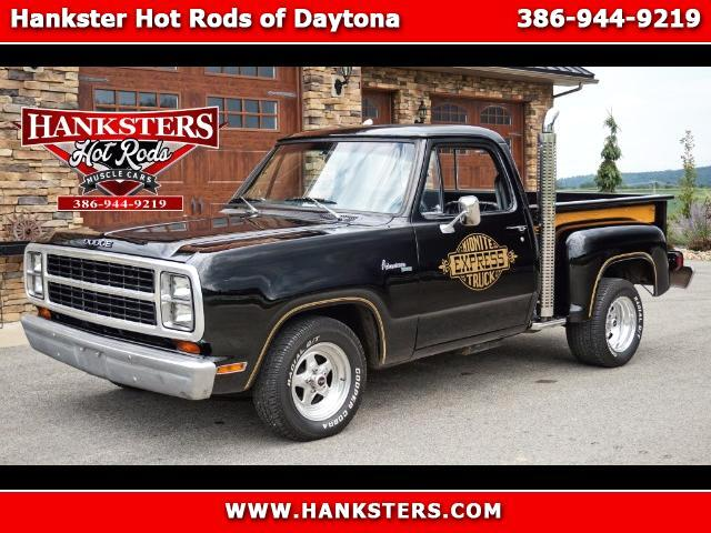 1980 Dodge Pickup D100 Midnite Express Style