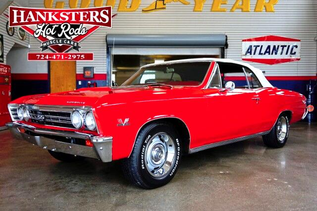1967 Chevrolet Chevelle Convertible SS style