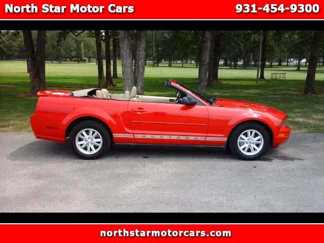2007 Ford Mustang V6 Premium Convertible