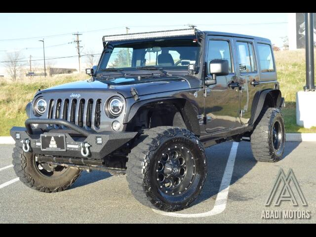 2017 Jeep Wrangler Unlimited 4WD 4Dr Sport Customized