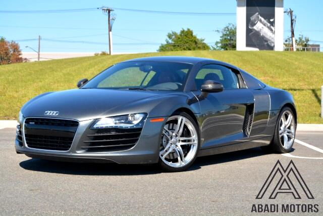 2009 Audi R8 Coupe quattro with Auto R tronic