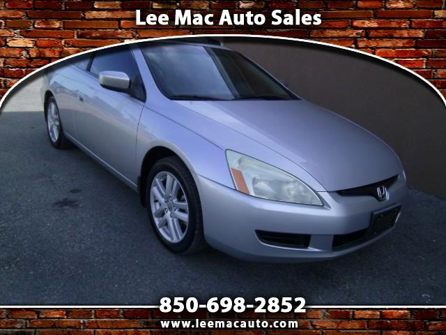 2004 Honda Accord EX V-6 Coupe 6-Speed MT with XM Radio