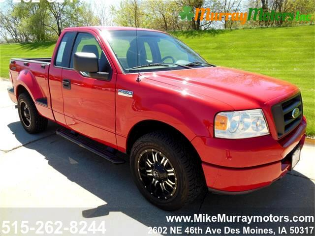 2005 Ford F-150 SuperCab Flareside Short Bed 2WD