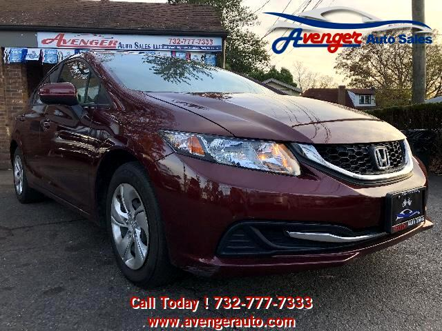 2014 Honda Civic 4dr Sdn LX Auto w/Side Airbags