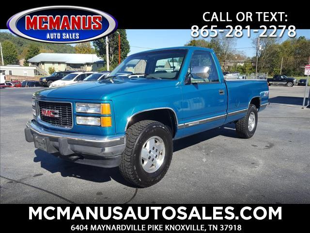 1994 GMC Sierra C/K 1500 Reg. Cab 6.5-ft. Bed 4WD