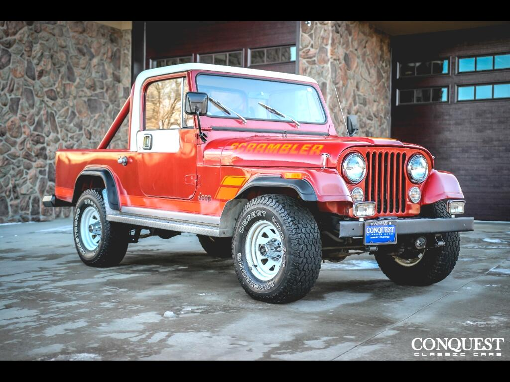 1984 Jeep Scrambler CJ8