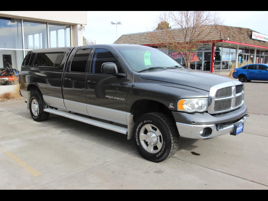 2003 Dodge Ram 2500 SLT Quad Cab Long Bed 4WD