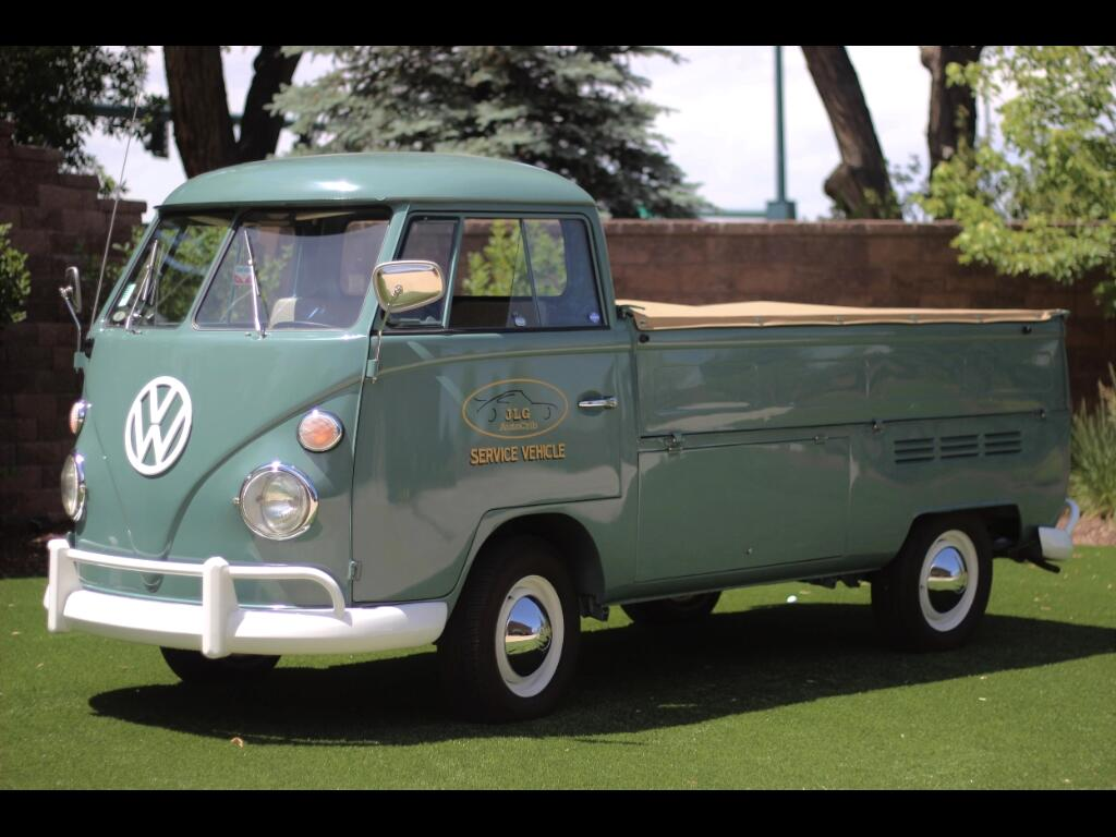 1967 Volkswagen T-2 Transporter Single Cab Flat Bed Truck