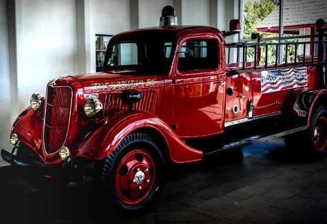 1935 Ford Fire Truck