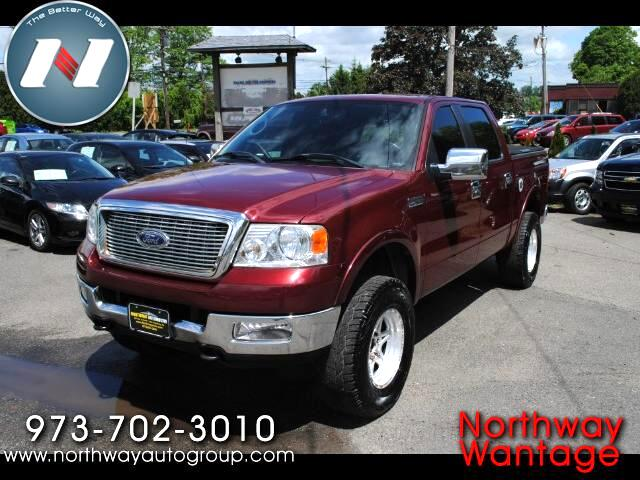 """2005 Ford F-150 4WD SuperCab 133"""" Lariat"""