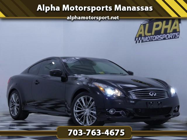 2011 Infiniti G Coupe w/ Sport and Premium Packages
