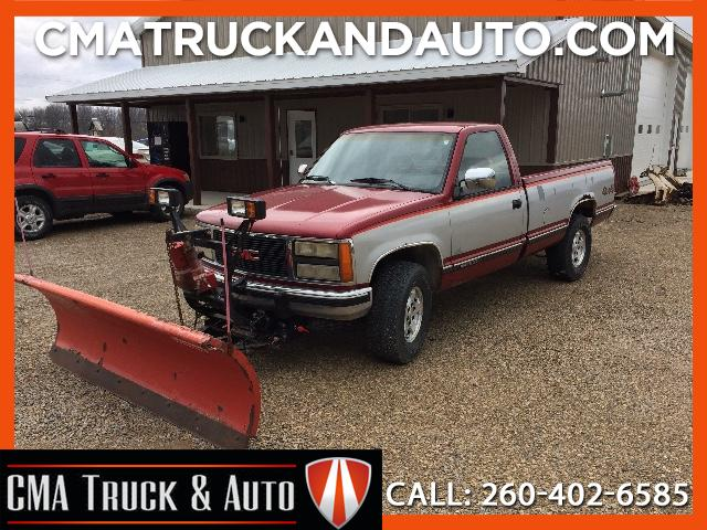 1992 GMC Sierra C/K 1500 Reg. Cab 6.5-ft. Bed 4WD