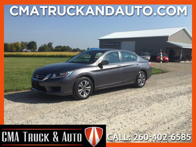 2015 Honda Accord LX Sedan 6-Spd MT