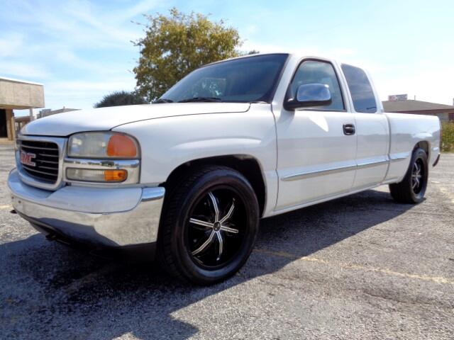 2001 GMC Sierra 1500 SLE Ext. Cab Short Bed 2WD