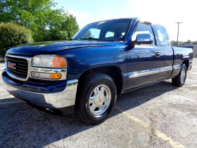 1999 GMC Sierra 1500 SLE Ext. Cab Short Bed 2WD