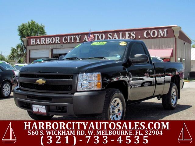 2011 Chevrolet Silverado 1500 Work Truck 4WD