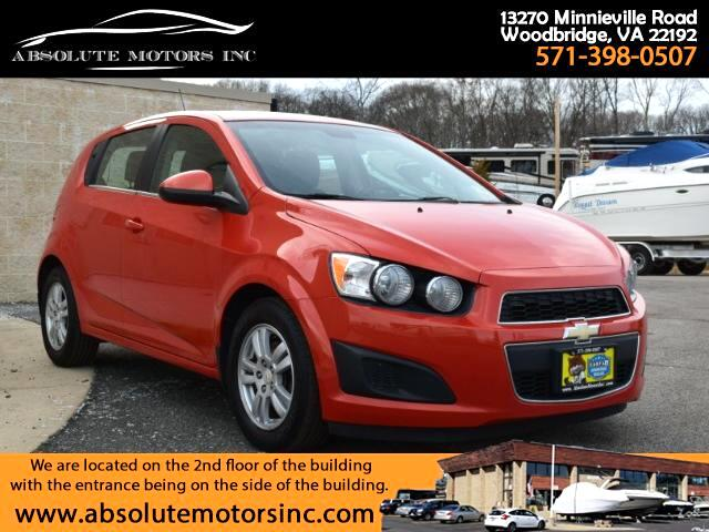 2012 Chevrolet Sonic 1LT 5-Door