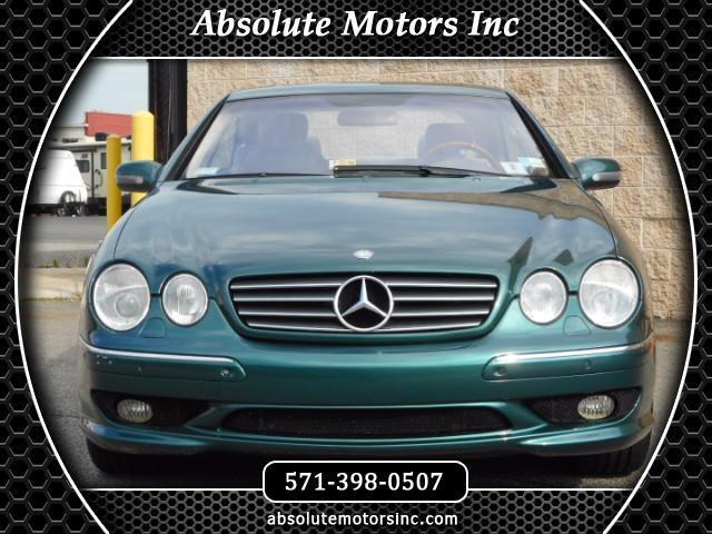 2001 Mercedes-Benz CL-Class CL55 AMG