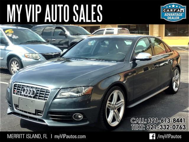 2010 Audi S4 Premium Plus quattro 7A