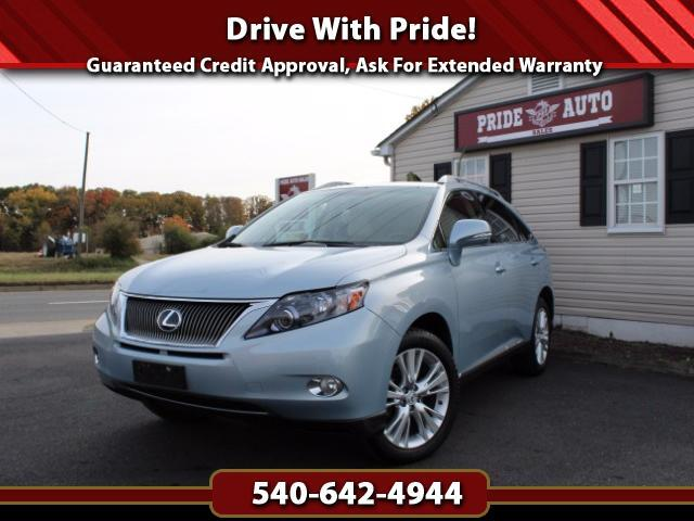 2010 Lexus RX 450h AWD, Navigation, DVD, Backup Camera, and Sunroof!