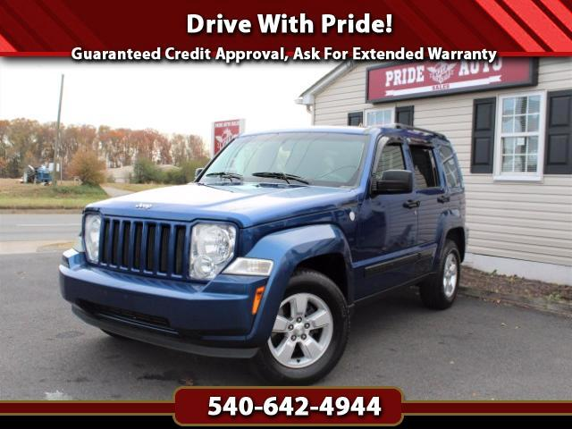2010 Jeep Liberty Sport 4WD w/Sunroof