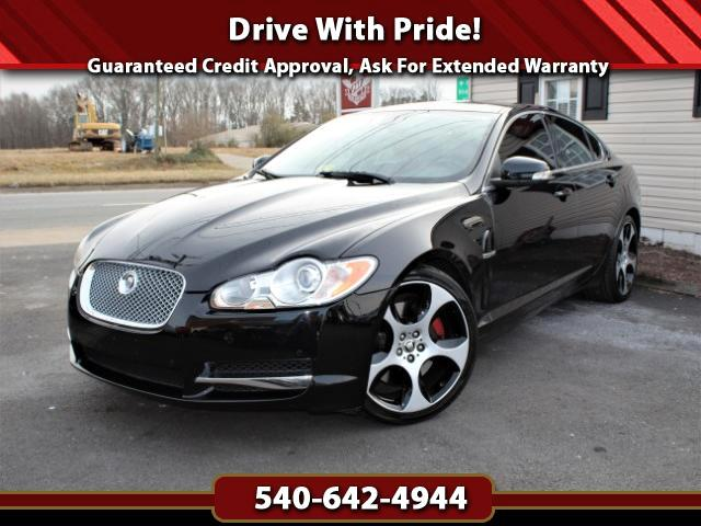 2009 Jaguar XF-Series Supercharged w/Spice/Charcoal Interior