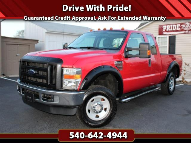 2010 Ford F-250 SD XL SuperCab 4WD w/Leather Seats