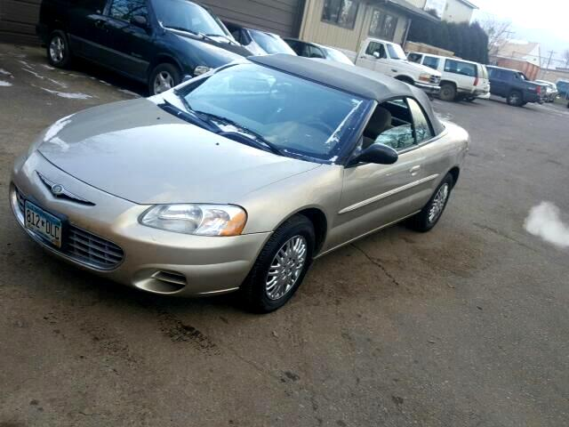 2002 Chrysler Sebring LX Convertible
