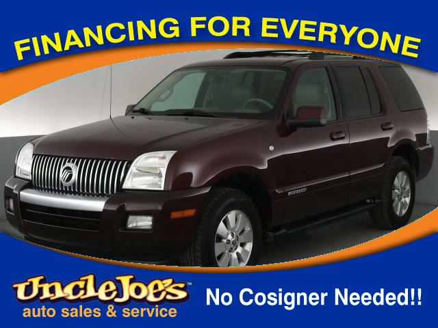 2008 Mercury Mountaineer Base 4.0L AWD