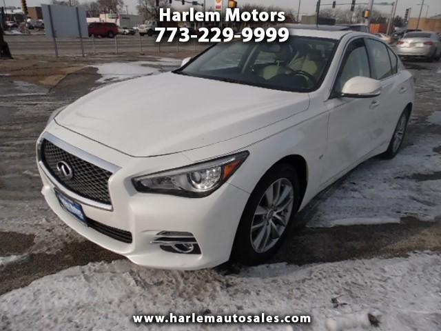 2014 Infiniti Q50 Premium AWD - Nav - Back Up Ca