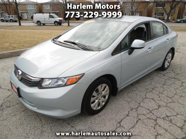2012 Honda Civic LX 5-Speed AT