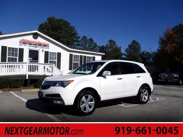 2011 Acura MDX Touring with Rear DVD System