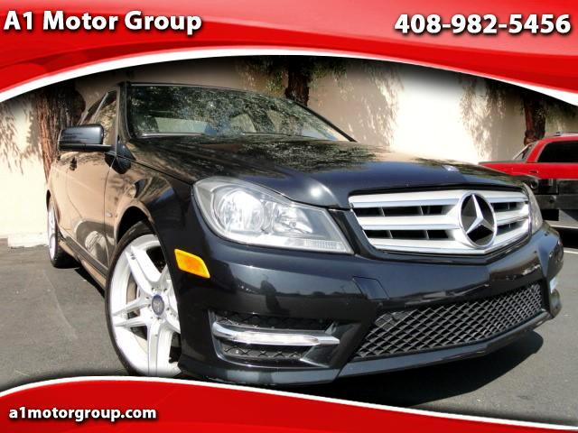 2012 Mercedes-Benz C-Class C350 Sport Sedan