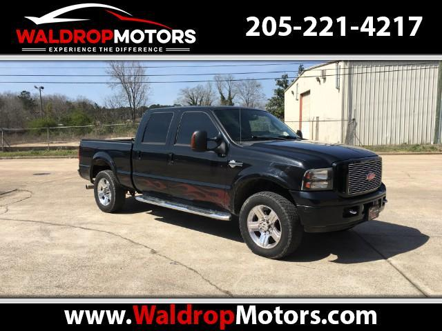 2005 Ford F-250 SD Crew Cab Long Bed Harley Davidson