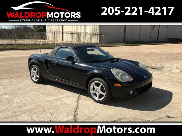 2004 Toyota MR2 Spyder Convertible