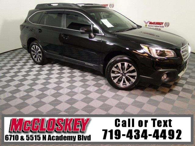 2017 Subaru Outback 2.5i Limited EyeSight Navigation