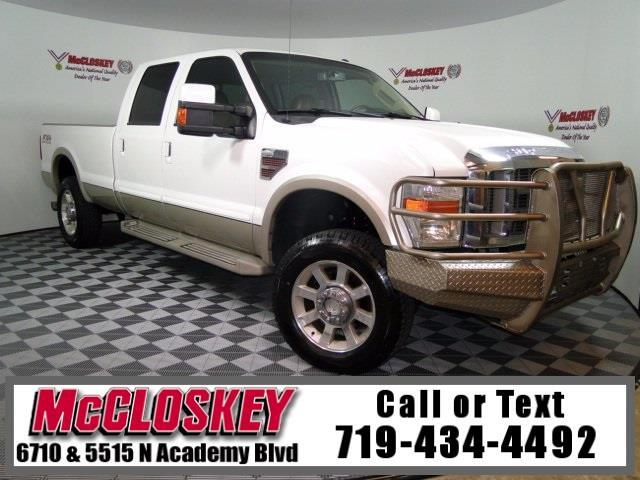2010 Ford F-350 SD King Ranch FX4