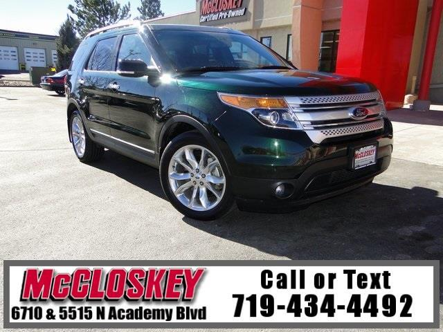 2013 Ford Explorer XLT Low Miles w/ Third Row!