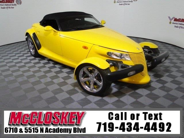 2000 Plymouth Prowler Roadster Rare Low miles