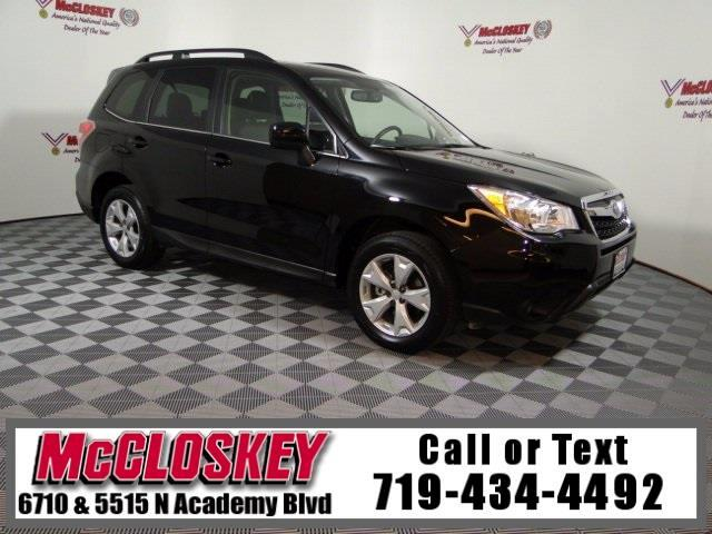 2016 Subaru Forester 2.5i Limited AWD One Owner
