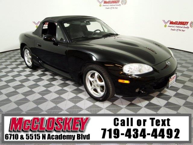 2001 Mazda MX-5 Miata Base Convertible w/ Low Miles
