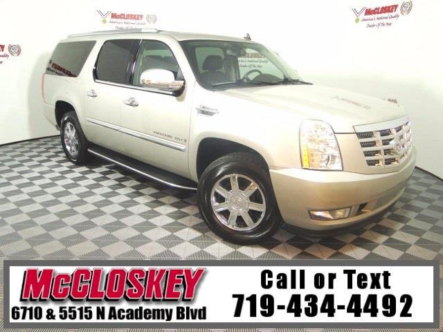 2008 Cadillac Escalade Base AWD DVD One Owner