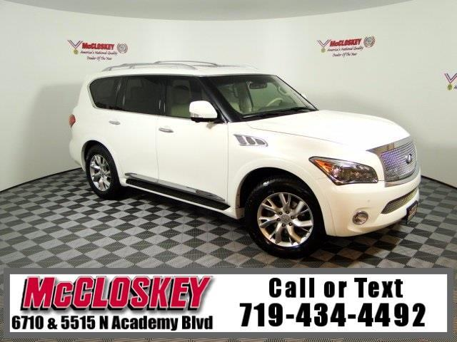 2012 Infiniti QX56 Base 4WD, 3rd Row, Navigation