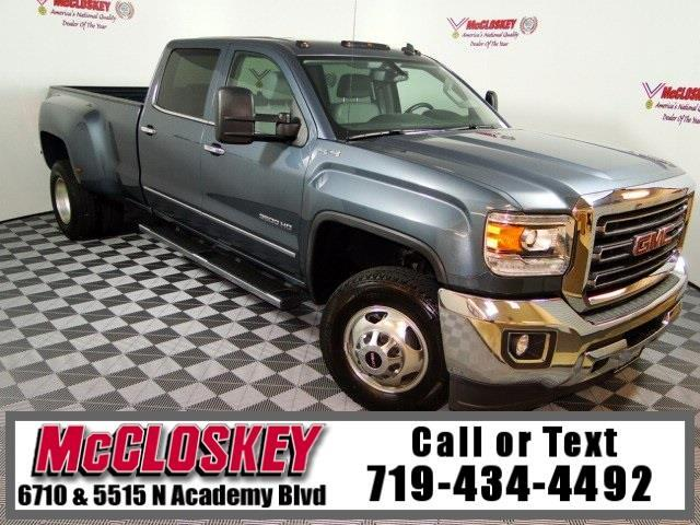 2015 GMC Sierra 3500HD SLT Long Bed Dually 4x4