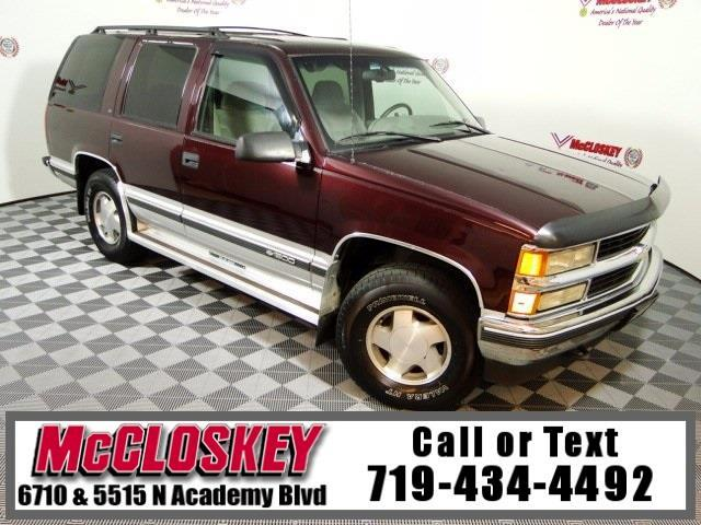 1996 Chevrolet Tahoe Base 4x4!